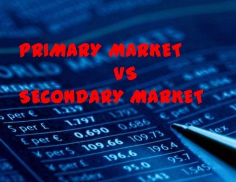 Difference between primary market and secondary market