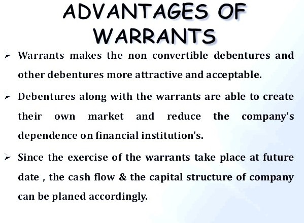 Difference between stock options and warrants