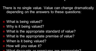 Valuation Concepts