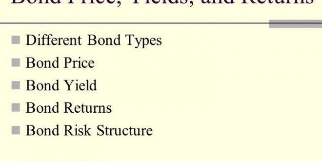General Expressions of Bond Returns.