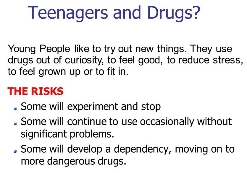 Drug Addiction Problem among Young People