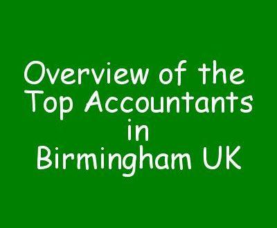 Overview of the Top Accountants in Birmingham UK
